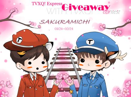 TVXQ! Express - SAKURAMICHI Giveaway design 01