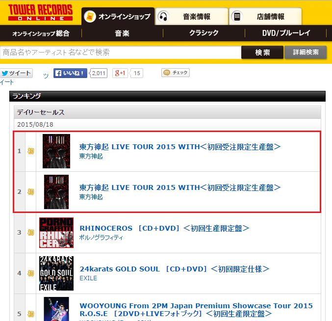 Charts   TVXQ! Express   Page 23