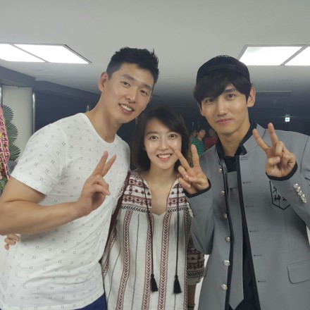 150827 Old Photos of TVXQ! Backstage with Han Sunsoo at T1ST0ry Encore Concert in Seoul 000