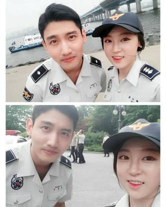 Instagram/FB] 160523 With Changmin During his Filming for