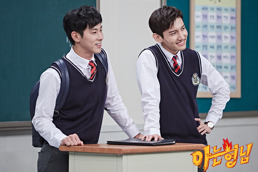 "Eng Sub-KShow] 171014 TVXQ! on jtbc-TV ""Knowing Bros"